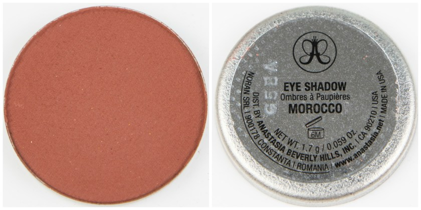 ABH, Anastasia Beverly Hills, Anastasia Beverly Hills Single Eyeshadow, Single, Eyeshadow, Lidschatten, Swatch, Swatches, Review, Erfahrung, Erfahrungen, Erfahrungsbericht, Morocco