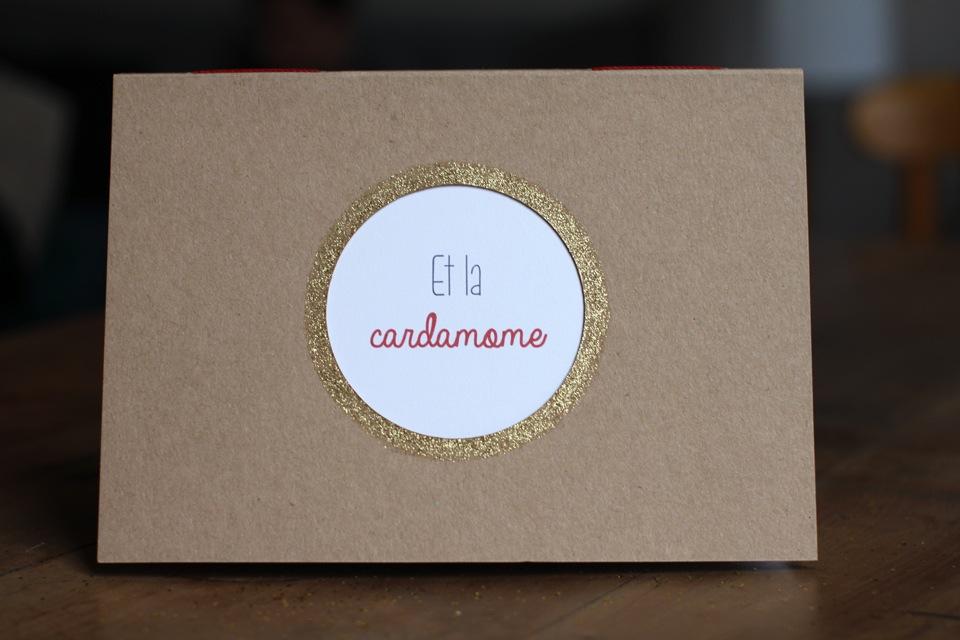 Carnet de recettes «Et la cardamome»