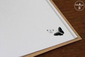 Livre d'or papillon