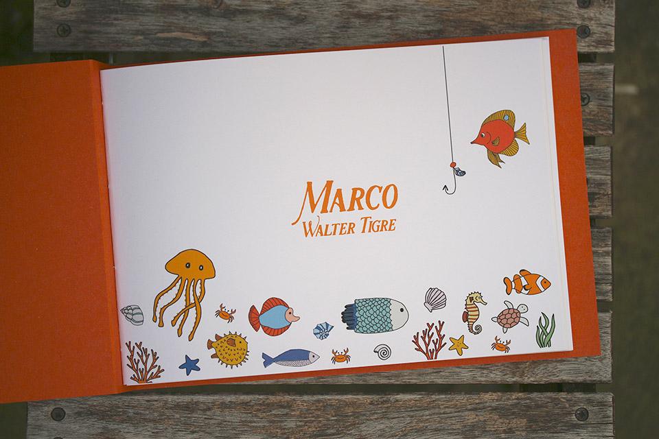 Carnet premiers souvenirs, Marco