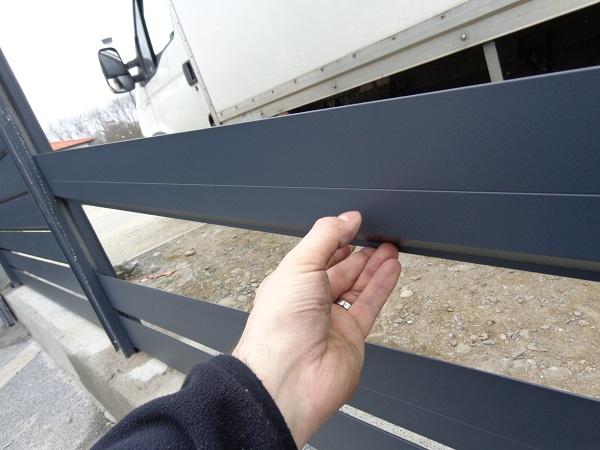 Brise Vue Aluminium Au Prix D Une Cloture Pvc Ou Cloture Composite