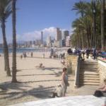 Pláž Poniente Benidorm