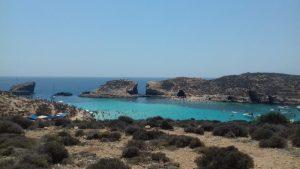 modrá lagúna