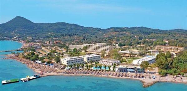 korfu hotel na pláži lacne dovolenky