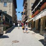 uličky San Marino lacne dovolenky