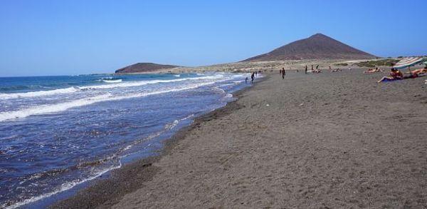 prírodná pláž medano