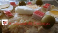 Ensaladilla de patatas con frutos de mar