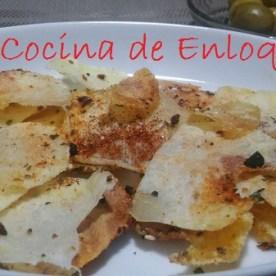 Patatas chips al microondas: Mis truquitos