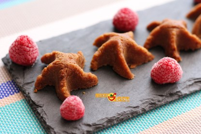 Caramelos o bombones de vainilla