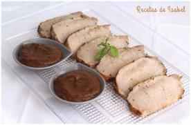 Lomo al horno con salsa de ciruelas