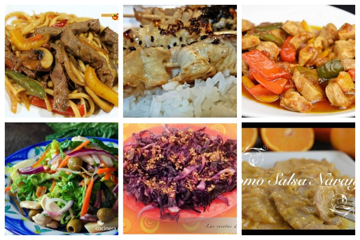 Recetas de cocina oriental (II)