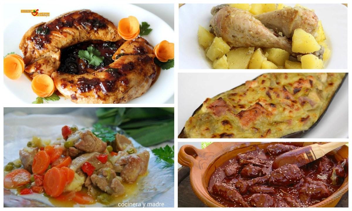 Recetas con pavo y pollo