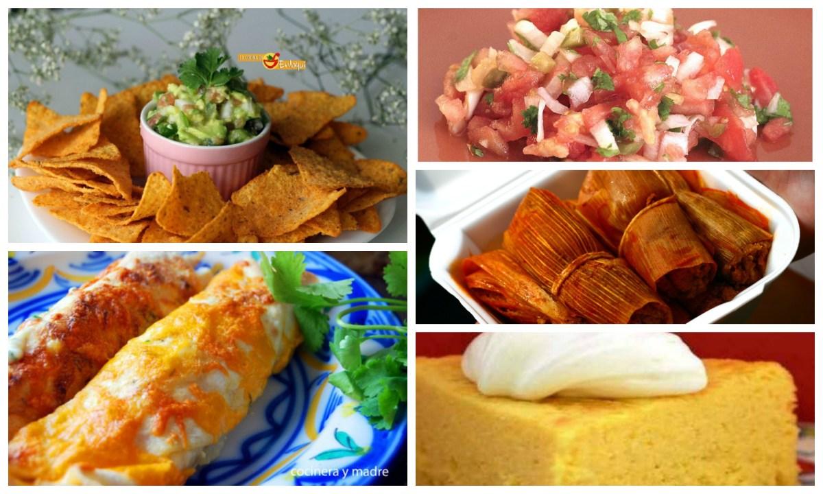 Recetas mexicanas fáciles y ricas