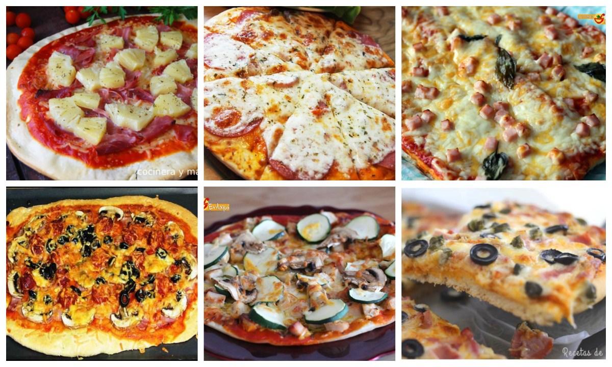 Pizzas muy fáciles y ricas