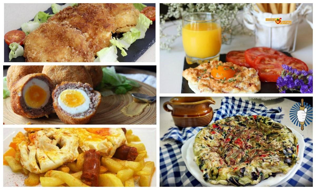 Recetas muy fáciles con huevo