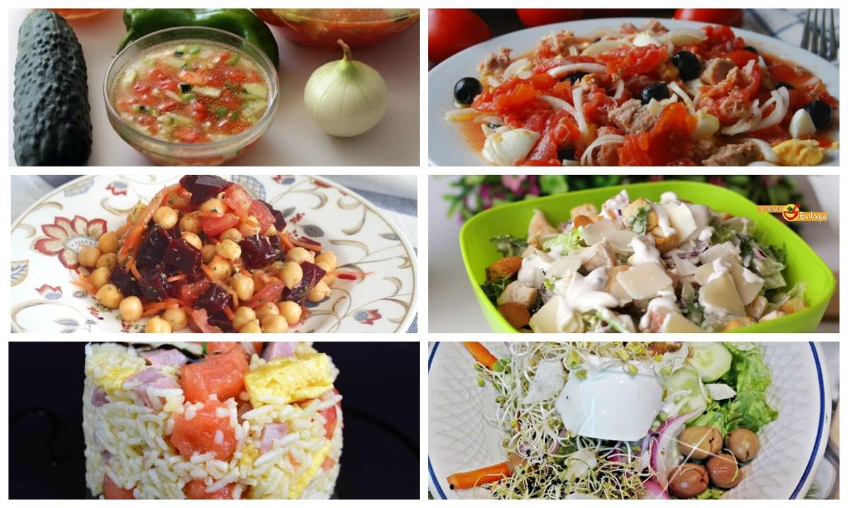 Recetas ligeras y refrescantes
