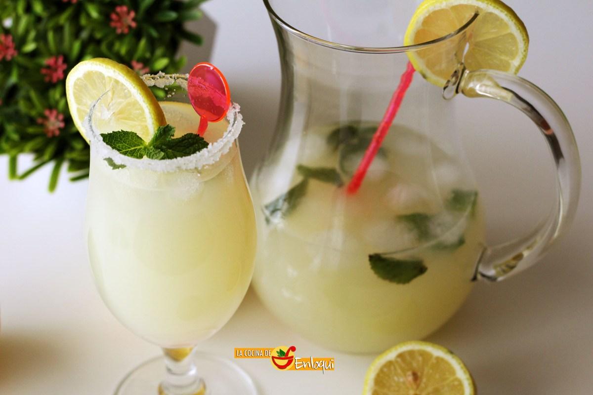 Limonada casera y refrescante
