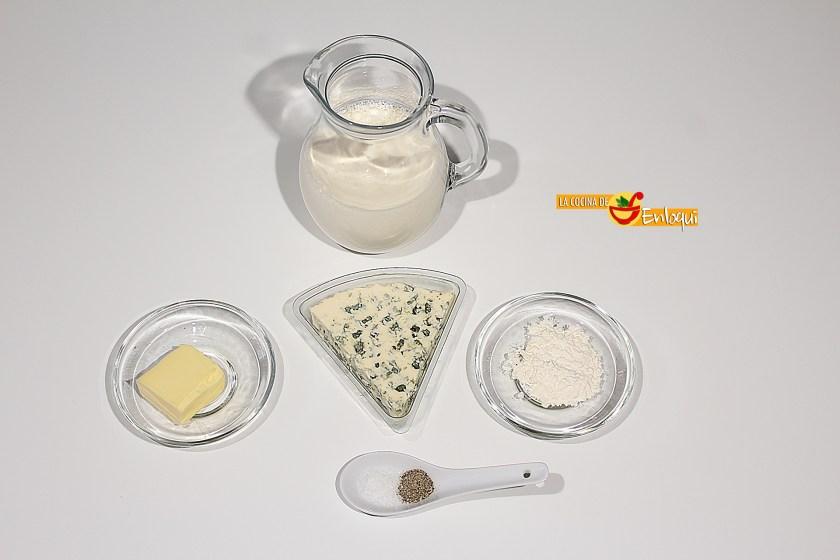 Ingredientes para Salsa roquefort
