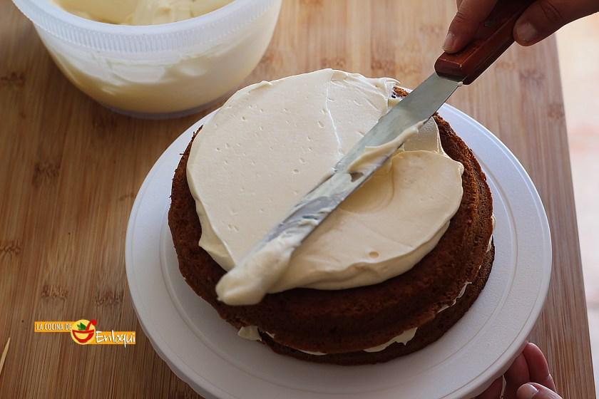 Montaje de la tarta
