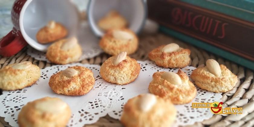 Galletas de almendra sin gluten y sin azúcar