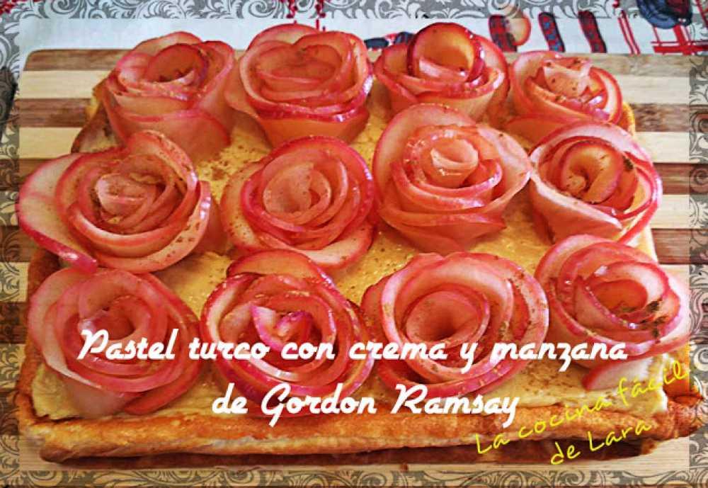 pastel turco de yogur de Gordon Ramsay