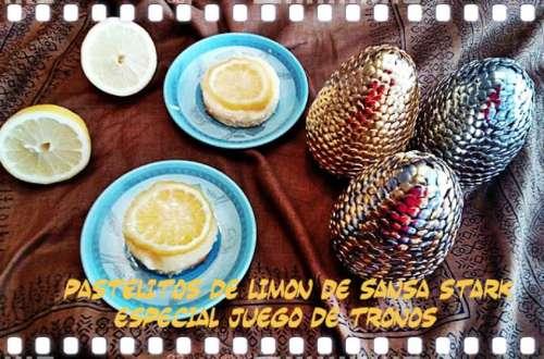 Pastelitos de limón de juego de tronos