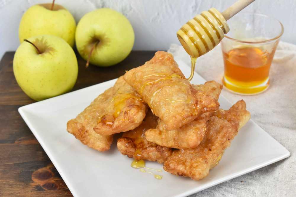 pastel de manzana sin horno del Mcdonalds