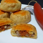 Empanadas de carne y sobrasada