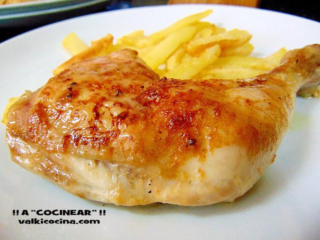 recetas jugosas de pollo