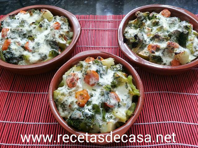 gratinado de verduras cocina facil