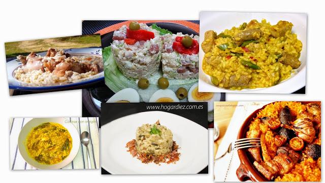 seis recetas de arroz cocina facil