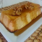 Tarta de queso con miel