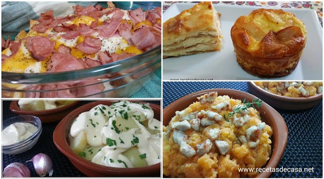 cuatro recetas de patatas cocina facil