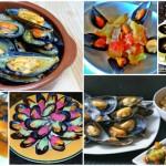 Seis recetas de mejillones