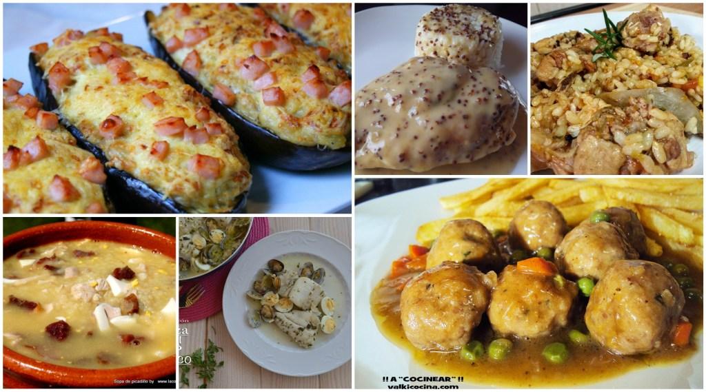 menú semanal 18
