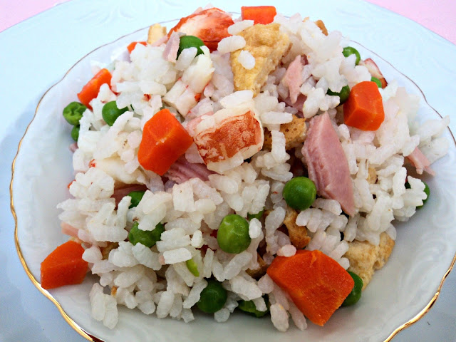 guarniciones con arroz