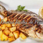 12 Recetas fáciles de pescado