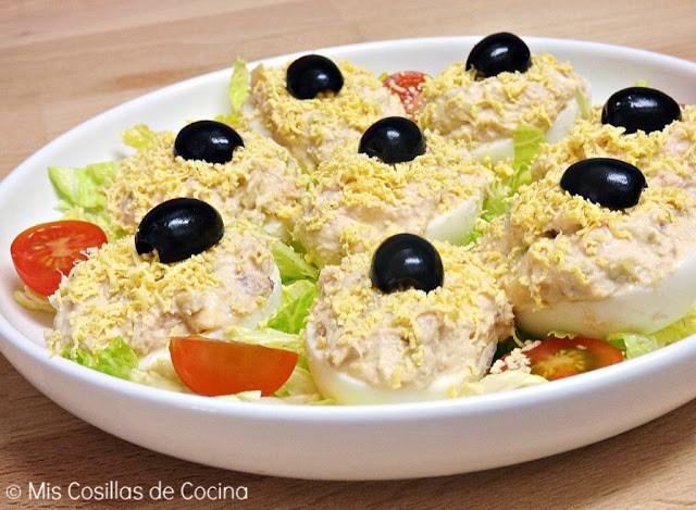 recetas de huevos rellenos