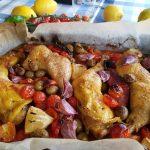 Pollo asado con chorizo Donna Hay