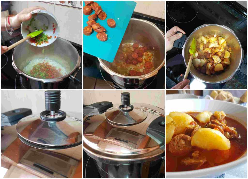 patatas a la riojana en 10 minutos