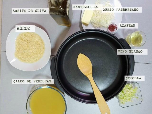 378451f423 Salmón marinado con risotto al azafrán - La Cocina de Pedro y Yolanda