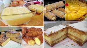 recetas con crema pastelera