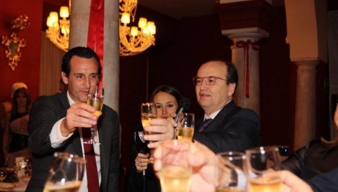 Pepe Castro y Unai Emery comparten amor