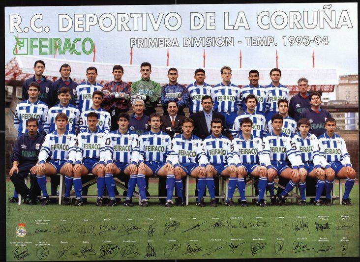 Resultado de imagen de deportivo temporada 93-94