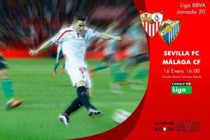 Sevilla – Málaga: tres puntos para seguir con la racha en casa