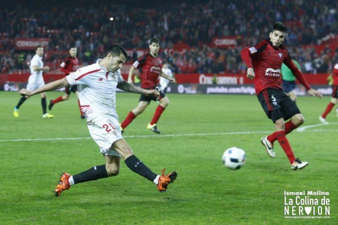 Sevilla 2-0 Mirandés. Gol para soñar