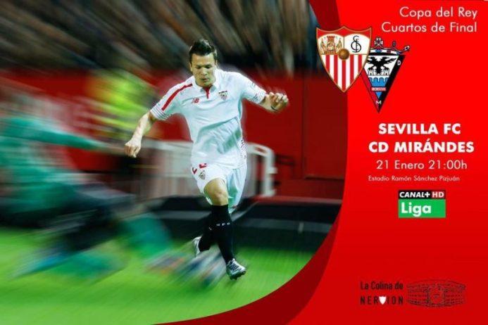 La previa en datos: Sevilla – Mirandés