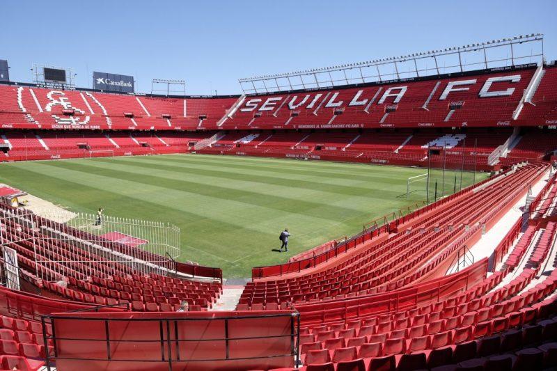 Gradas del Ramón Sánchez-Pizjuán reformadas | Imagen: Sevilla FC