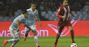 Rami, durante el partido entre el Sevilla FC y el Celta de Vigo | Imagen: Sevilla FC