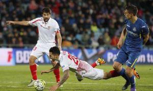 Getafe 1-1 Sevilla. Sigue la maldición